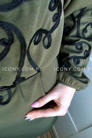 Sukienka oversize esy-floresy khaki
